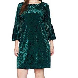 Julian Taylor hunter green dress size 14